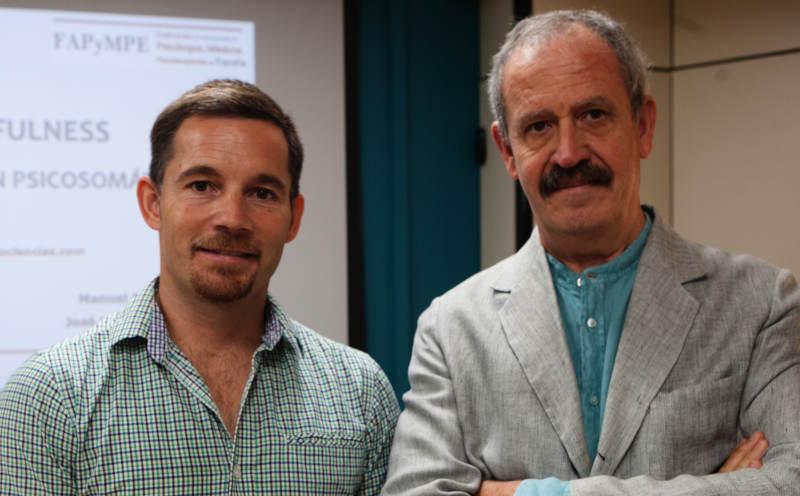 El Dr. Manuel Paz y el Dr. José Luis Marín