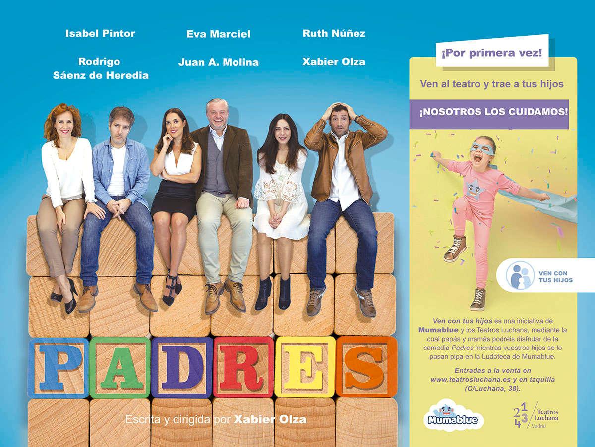 Ipsimed colabora en la función teatral Padres