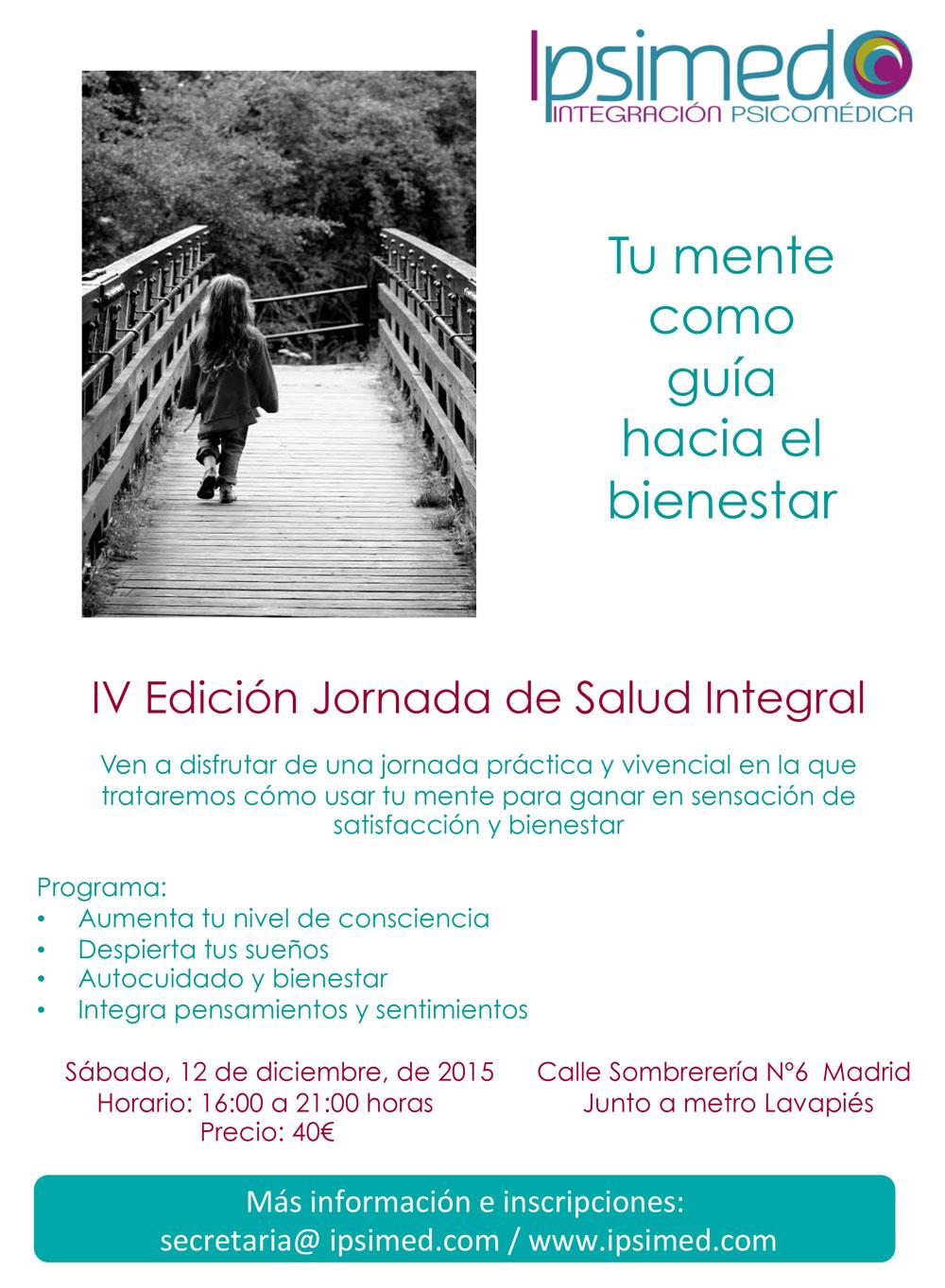 IV Jornada Salud Integral Ipsimed