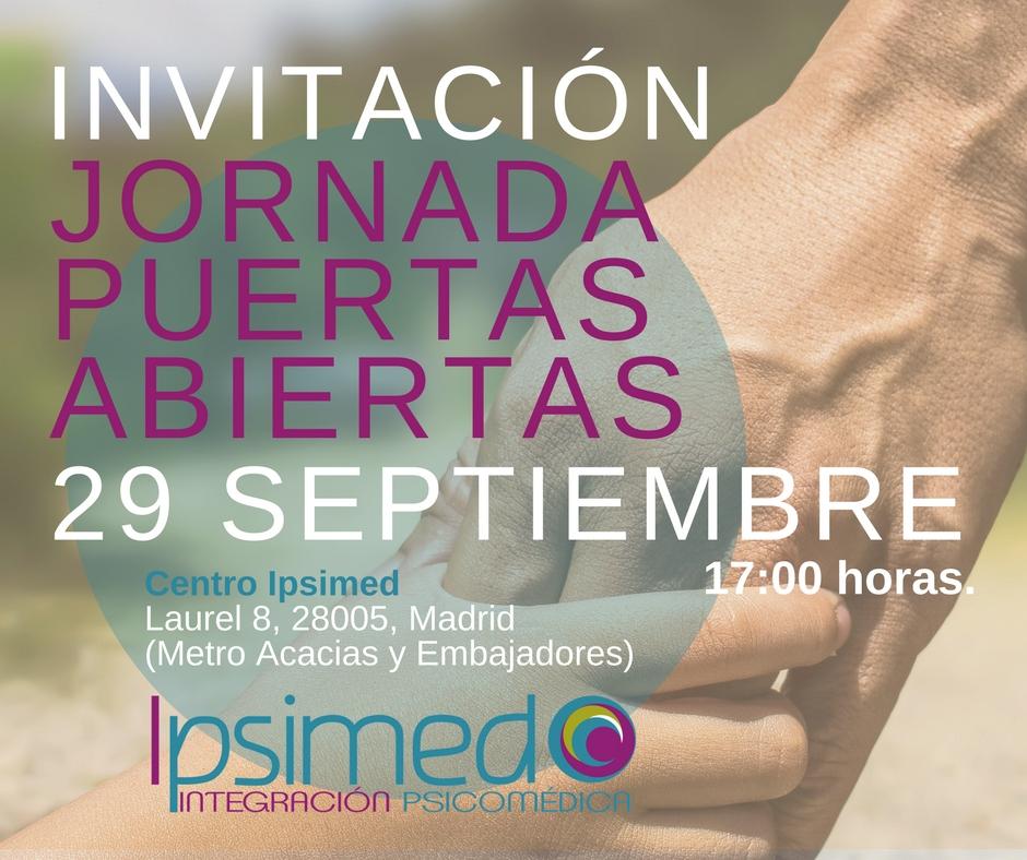 Jornada Puertas Abiertas Ipsimed 29 septiembre 2017