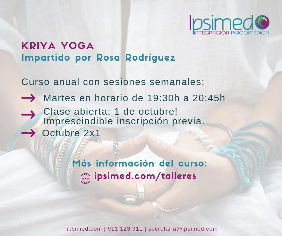 Kriya Yoga 2019 Ipsimed