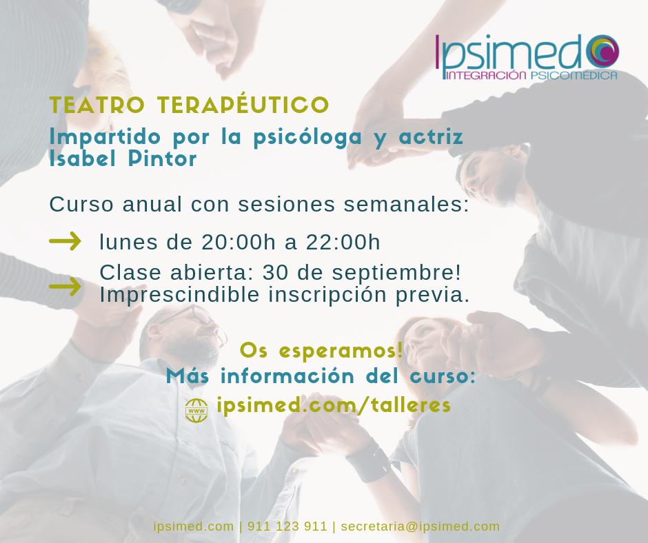 Teatro Terapeutico - Ipsimed